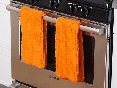 Shaggies: Chenille Towel - Set of 2