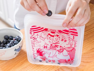 stasher: Silicone Storage Bag - Characters