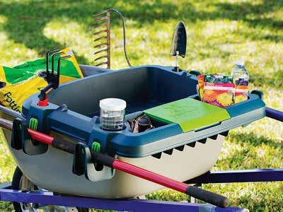 Little Burros: Wheelbarrow Organization Shelf - Large