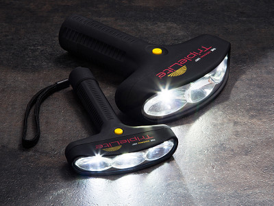 TripleLite: 180 Degree Flashlight