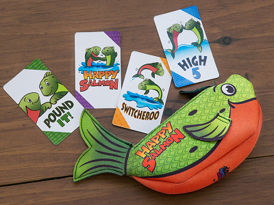 North Star Games: Happy Salmon Interactive Card Game