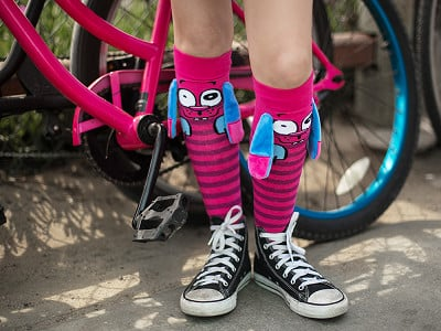 MooshWalks: Knee High Character Socks