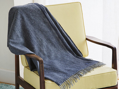Faribault: Ashby Twill Wool Throw