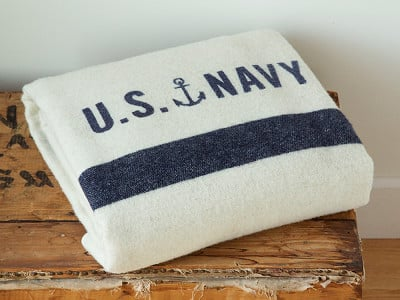 Faribault: Foot Soldier Military Wool Blanket
