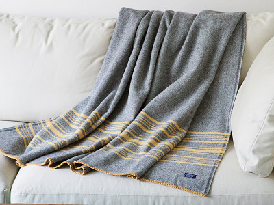 Faribault: Weekender Stripe Wool Throw