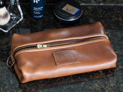 Range Leather Co.: Travellr Dopp Case