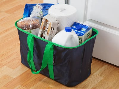 CleverMade: SnapBasket Collapsible Tote