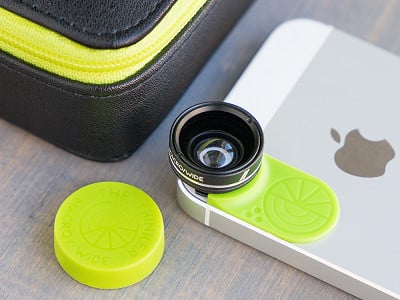 Limelens: Interchangeable Phone Lens Set