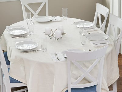 Mode Living: Miami Stain-Resistant Table Cloth