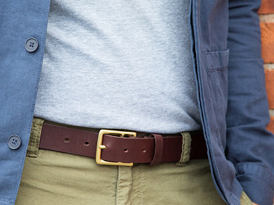 Todder: Men's Leather Belt