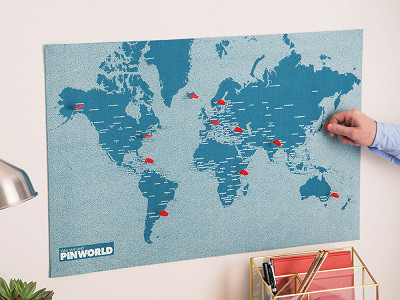Palomar: Felt World Map