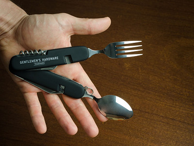 Wild & Wolf: Camping Cutlery Tool