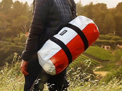 RAREFORM: Repurposed Billboard Duffle