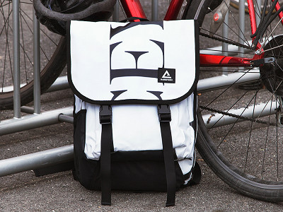 RAREFORM: Repurposed Billboard Backpack