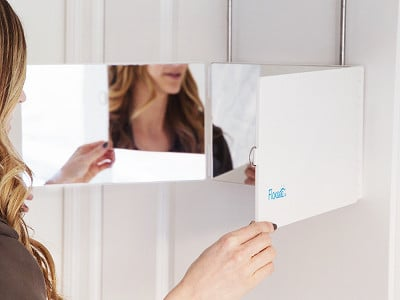 Floxsee: Portable Tri-View Mirror