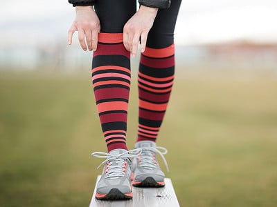 VIM & VIGR: Women's Nylon Compression Socks