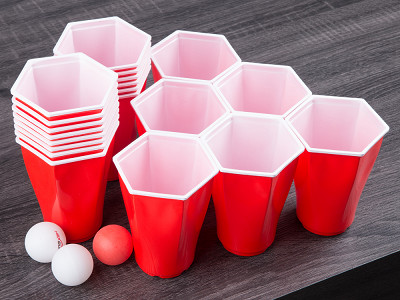 Hexcup: Hexagonal Beer Pong Game