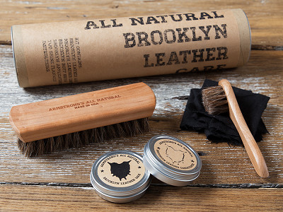 Armstrong's All Natural: Leather Care Gift Set