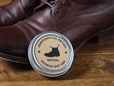 Armstrong's All Natural: Brooklyn Boot Wax