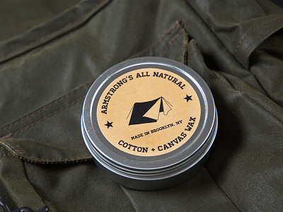 Armstrong's All Natural: Cotton + Canvas Wax