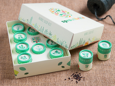 SproutBrite: Herb Seed Kit