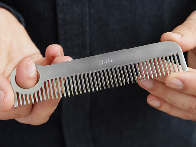 Chicago Comb Co.: Model No. 1 Stainless Steel Comb