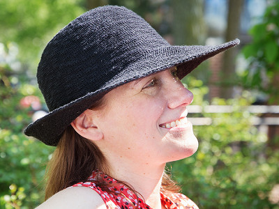 Shihreen: UV Protective Turn Brim Hat