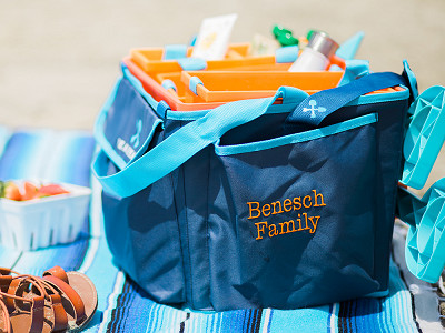 Beachmate: Customized Family Beach Bag