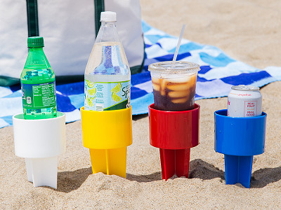 Spiker: Sand Drink Holders Set of 4