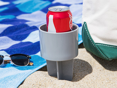 Spiker: Sand Drink Holder