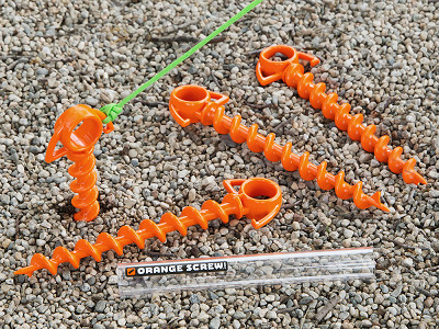 Orange Screw: Small Ground Screw