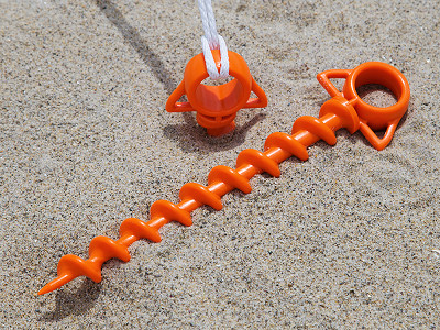 Orange Screw: Large Ground Screw