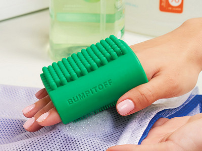 Bump It Off: Silicone Cleaning Sleeves - Set of 2