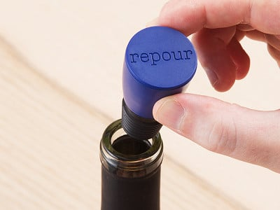 Repour: Wine Saver Stopper
