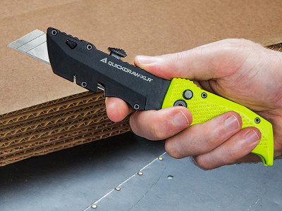 EDC Hand Tools: QuickDraw Dual-Use Utility Knife