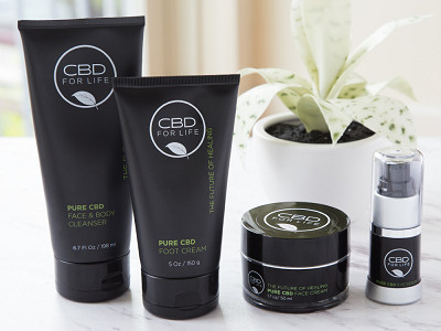 CBD for Life: Cannabidiol Infused Body Care