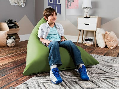 Jaxx Bean Bags: Kids Pivot Bean Bag Lounge Chair