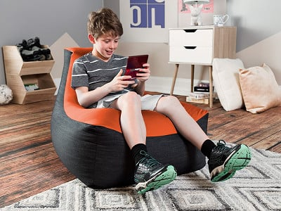 Jaxx Bean Bags: Kids Strato Bean Bag Gaming Chair