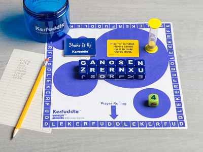 Kerfuddle: Letter Cube Word Game