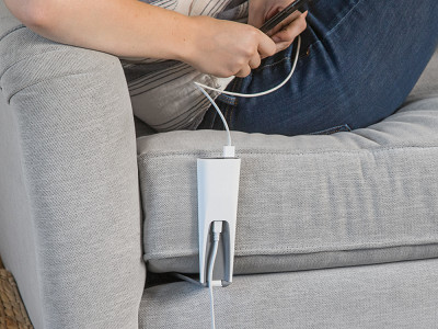 Couchlet: Dual-USB Charging Station