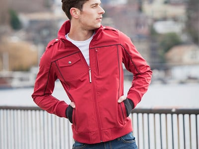 BauBax: Men's Travel Bomber Jacket