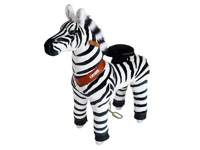PonyCycle: Small Zebra Ride-On Toy
