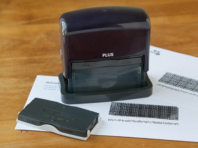 Guard Your ID: Identity Protection Stamp