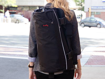 Henty: Roll-Up Suit & Garment Backpack
