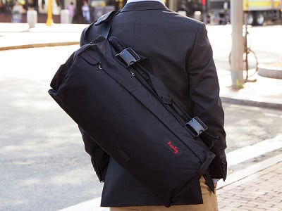 Henty: Roll-Up Suit & Garment Messenger Bag