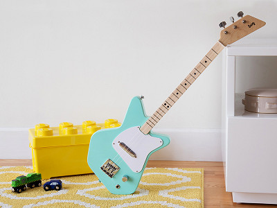 Loog Guitars: Kids' Three String Electric Guitar