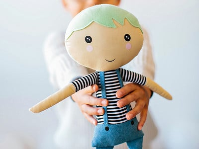 "The Doll Kind: Kindness ""Hope"" Doll"