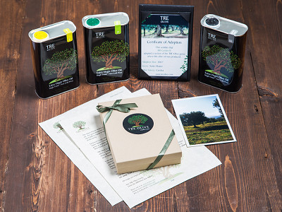 TRE Olive: Olive Tree Adoption & Oil Assortment