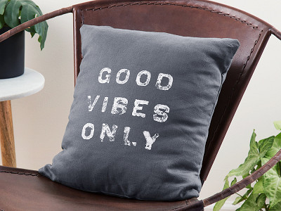 "Casa & Co: 16"" Custom Printed Linen Pillow"