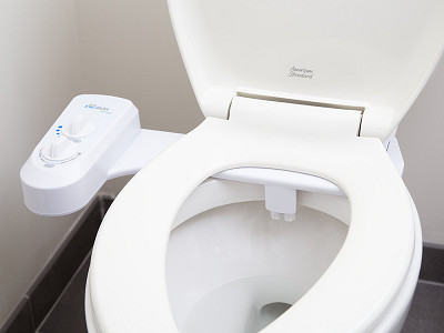 BioBidet: Non-Electric Bidet Toilet Attachment